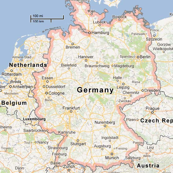 Maps Update 656532 Southwest Germany Map Maps Update 948950 – Map Southern Germany